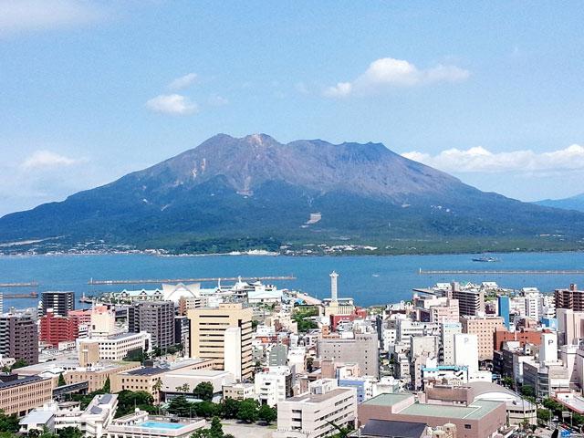 桜島 JALパック マイステイ鹿児島1泊【沖永良部発】