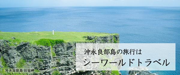 沖永良部島のツアー・パック旅行はシーワールドトラベル